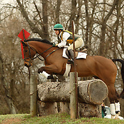 Carol Kozlowski (USA) and Take Time at the Morven Park Spring Horse Trials held in Leesburg, Virginia