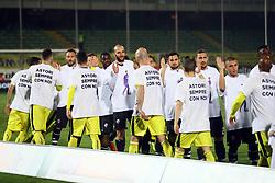 """Foto Filippo Rubin<br /> 06/03/2018 Cesena (Italia)<br /> Sport Calcio<br /> Cesena - Pro Vercelli - Campionato di calcio Serie B ConTe.it 2017/2018 - Stadio """"Dino Manuzzi""""<br /> Nella foto: RICORDO DI DAVIDE ASTORI<br /> <br /> Photo by Filippo Rubin<br /> March 06, 2018 Cesena (Italy)<br /> Sport Soccer<br /> Cesena - Pro Vercelli - Italian Football Championship League B 2017/2018 - """"Dino Manuzzi"""" Stadium <br /> In the pic:"""