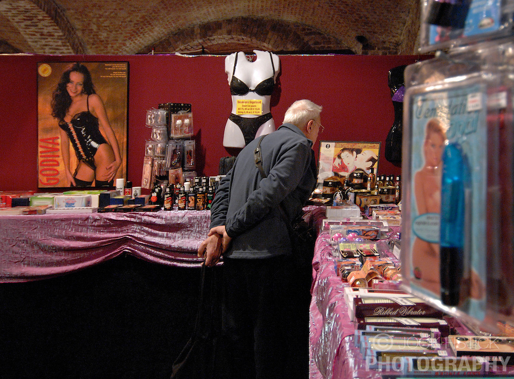The 15th Annual Brussels International Festival of Eroticism, in Brussels, Belgium. (Photo © Jock Fistick)