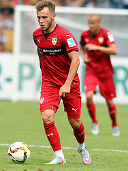 19.07.2015, Scholz Arena, Aalen, GER, Testspiel, VfR Aalen vs VfB Stuttgart, im Bild Alexandru Maxim ( VfB Stuttgart ) // during the Friendly Football Match between VfR Aalen and VfB Stuttgart at the Scholz Arena in Aalen, Germany on 2015/07/19. EXPA Pictures © 2015, PhotoCredit: EXPA/ Eibner-Pressefoto/ Langer<br /> <br /> *****ATTENTION - OUT of GER*****