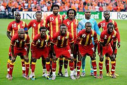 01.06.2010, Stadium De Kuip, Rotterdam, NLD, FIFA Worldcup Vorbereitung, Netherlands vs Ghana, im Bild Teamphoto Ghana.. EXPA Pictures © 2010, PhotoCredit: EXPA/ nph/ Hoogendoorn / SPORTIDA PHOTO AGENCY