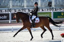 Susanne Jensby Sunesen, (DEN), Thy's Que Faire - Team Competition Grade III Para Dressage - Alltech FEI World Equestrian Games™ 2014 - Normandy, France.<br /> © Hippo Foto Team - Jon Stroud <br /> 25/06/14