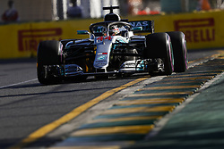 March 23, 2018 - Melbourne, Victoria, Australia - HAMILTON Lewis (gbr), Mercedes AMG F1 Petronas GP W09 Hybrid EQ Power+, action during 2018 Formula 1 championship at Melbourne, Australian Grand Prix, from March 22 To 25 - Photo  Motorsports: FIA Formula One World Championship 2018, Melbourne, Victoria : Motorsports: Formula 1 2018 Rolex  Australian Grand Prix, (Credit Image: © Hoch Zwei via ZUMA Wire)