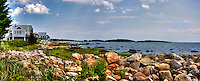Cape cod coastline