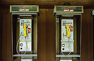 Public phones at the Delacorte Theater in Central Park