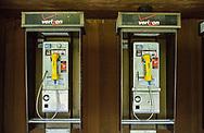 Public phones at the Delacorte Theater in Central Park