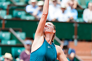 Petra Kvitova (cze) during the Roland Garros French Tennis Open 2018, day 2, on May 28, 2018, at the Roland Garros Stadium in Paris, France - Photo Pierre Charlier / ProSportsImages / DPPI