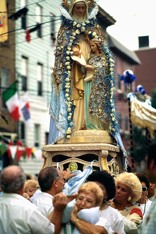 St. Ann's Feast, Hoboken, New Jersey