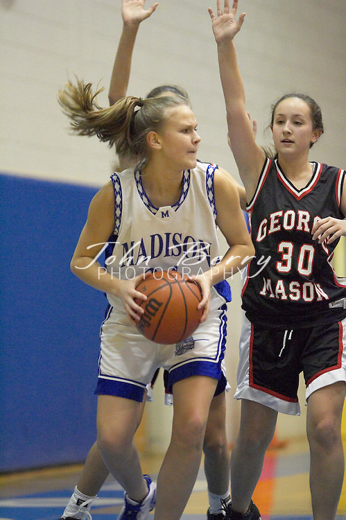 JV Girls Basketball..vs George Mason..January 6, 2005