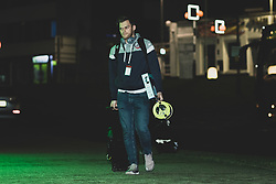 Joel Osbourne arrives at Plymouth Pavilions prior to kick off - Photo mandatory by-line: Ryan Hiscott/JMP - 28/12/2019 - BASKETBALL - Plymouth Pavilions - Plymouth, England - Plymouth Raiders v Bristol Flyers - British Basketball League Championship