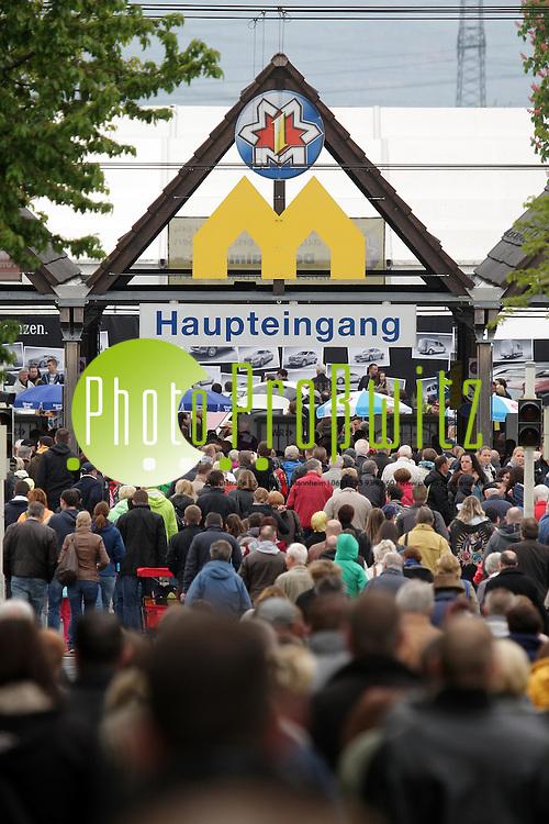 Mannheim. 01.05.15 Maimarkt 2015. Feature in den Hallen bei Deutschlands gr&ouml;&szlig;ter Verbraucherschau.<br /> <br /> <br /> Bild: Markus Pro&szlig;witz 01MAY15 / masterpress (Bild ist honorarpflichtig)