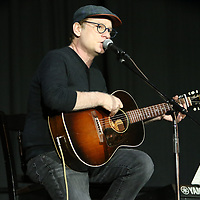 Celebrity guest Judge, Clay Mills, performs a medley of his songs Saturday for the Dancing Like the Stars event