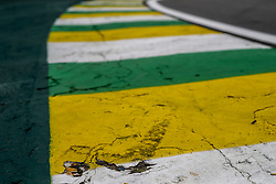 November 10, 2018 - Sao Paulo, Brazil - Motorsports: FIA Formula One World Championship 2018, Grand Prix of Brazil World Championship;2018;Grand Prix;Brazil ,  colors of brazil  (Credit Image: © Hoch Zwei via ZUMA Wire)