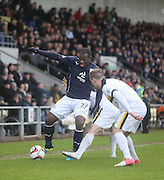 Christian Nade - Dumbarton v Dundee  - SPFL Championship at the Bet Butler Stadium<br /> <br />  - &copy; David Young - www.davidyoungphoto.co.uk - email: davidyoungphoto@gmail.com