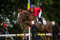 Spits Thibault, BEL, Bellisimo Z<br /> European Jumping Championship Children<br /> Zuidwolde 2019<br /> © Hippo Foto - Dirk Caremans<br /> Spits Thibault, BEL, Bellisimo Z