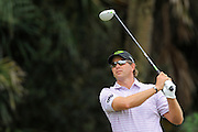 Retief Goosen during the first round of the World Golf Championship Cadillac Championship on the TPC Blue Monster Course at Doral Golf Resort And Spa on March 8, 2012 in Doral, Fla. ..©2012 Scott A. Miller.
