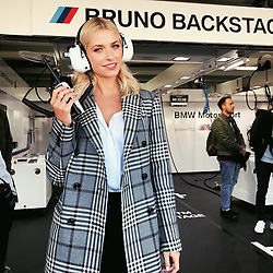 "Lena Gercke releases a photo on Instagram with the following caption: ""Giving some last instructions for the @bmwm team!!! Good luck for the Race later! Fingers crossed \u270c\ud83c\udffb #bmwm #challengeus"". Photo Credit: Instagram *** No USA Distribution *** For Editorial Use Only *** Not to be Published in Books or Photo Books ***  Please note: Fees charged by the agency are for the agency's services only, and do not, nor are they intended to, convey to the user any ownership of Copyright or License in the material. The agency does not claim any ownership including but not limited to Copyright or License in the attached material. By publishing this material you expressly agree to indemnify and to hold the agency and its directors, shareholders and employees harmless from any loss, claims, damages, demands, expenses (including legal fees), or any causes of action or allegation against the agency arising out of or connected in any way with publication of the material."