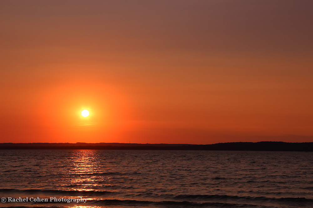 &quot;Grand Traverse Bay in Gold&quot;<br />