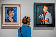 Portrait of Anna Akhmatova, 1922, by Kuzma Petrov-Vodkin and Portrait of Nikolai Punin by Kazimir Malevich - Revolution: Russian Art 1917-1932 marks the centenary of the Russian Revolution.  This landmark exhibition focuses on the momentous period in Russian history between 1917, the year of the October Revolution, and 1932 when Stalin began his violent suppression of the Avant-Garde. Avant-Garde artists such as Chagall, Kandinsky, Malevich and Tatlin feature alongside the Socialist Realism of Brodsky, Deineka, Mukhina and Samokhvalov amongst others. The exhibition runs at the Royal Academy of Arts from 11 February – 17 April 2017.