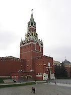 The Kremlin wall in Moscow