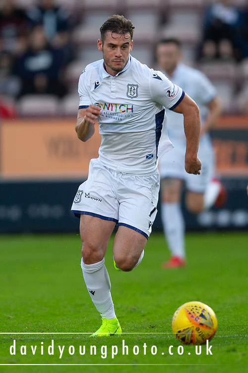 2nd Aug 2019, East End Park, Dunfermline, Fife, Scotland, Scottish Championship football, Dunfermline Athletic versus Dundee;  Josh Todd of Dundee