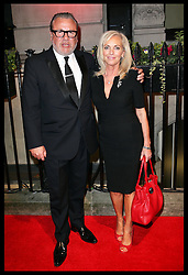 Ray Winstone and wife Elaine arriving  arriving at the British Film Institute's  Luminous Gala in London,  Tuesday, 8th October 2013. Picture by Stephen Lock / i-Images