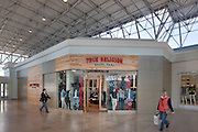 Retail interior image of True Religion Brand Jeans and lululemon athletica stores at the Mall in Columbia by Jeffrey Sauers of Commercial Photographics In Washington DC, Virginia to Florida and PA to New England
