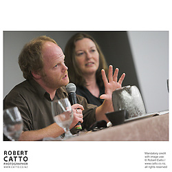 Nick Grant;Sue May at the Spada Conference 06 at the Hyatt Regency Hotel, Auckland, New Zealand.<br />