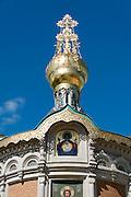 russische Kapelle, Mathildenhöhe, Jugendstil, Darmstadt, Hessen, Deutschland | Russian Chapel, Mathildenhoehe, Darmstadt, Germany
