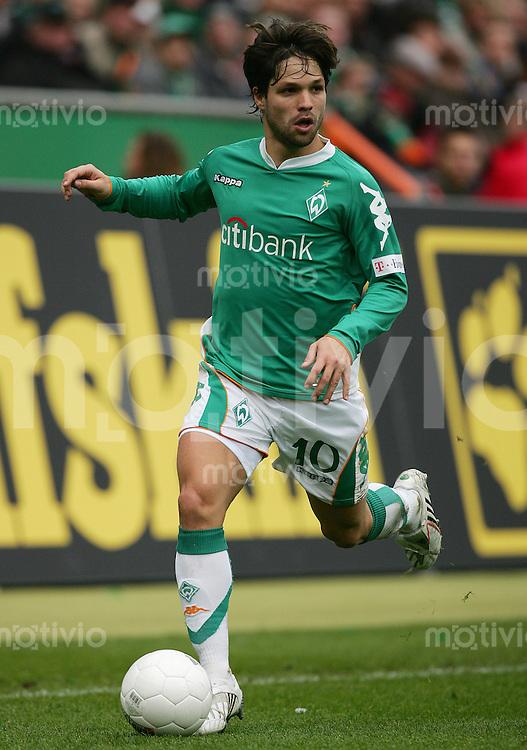 12.04.2008 Fussball Bundesliga 2007/08 SV Werder Bremen - FC Schalke 04 DIEGO (Werder).