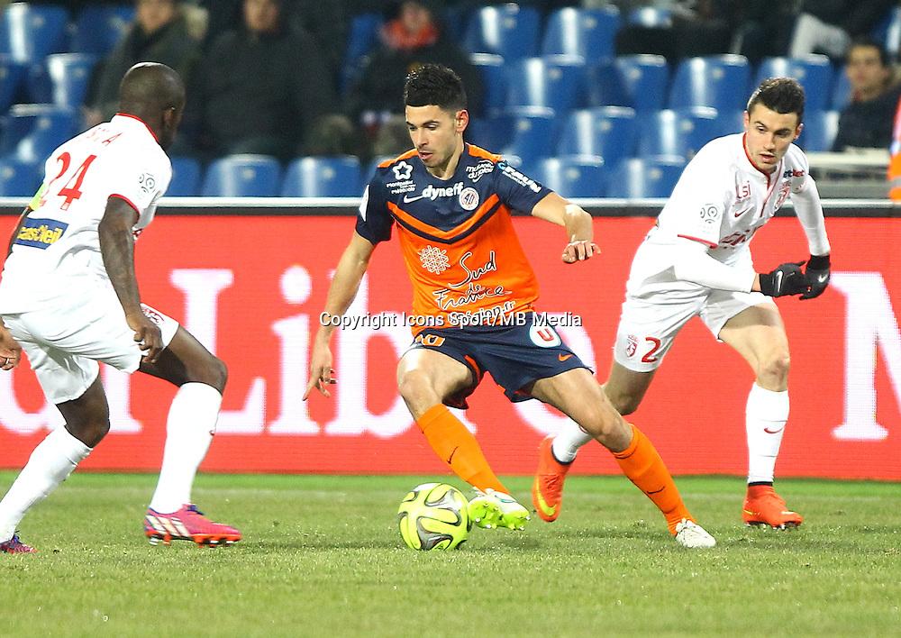 Morgan SANSON - 07.02.2015 - Montpellier / Lille - 24eme journee de Ligue 1<br /> Photo : Andre Delon / Icon Sport