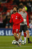 Football - 2019 / 2020 UEFA Champions League - Group E: Liverpool vs. Napoli<br /> <br /> Mohamed Salah of Liverpool returns to the side tonight, at Anfield.<br /> <br /> COLORSPORT/ALAN MARTIN