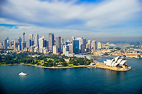 Sydney Skyline featuring Royal Botanic Gardens & Opera House