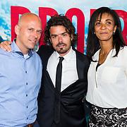 NLD/Amsterdam/20170522 - Premiere film Broers, Bram Schouw, Sophia Wezer en partner