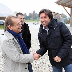 20121110 VISITA ALLA NUOVA SCUOLA DI SANT'AGOSTINO IN COSTRUZIONE