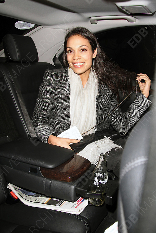 20.MARCH.2013. LONDON<br /> <br /> ROSARIO DAWSON ATTENDS DAVID BOWIE IS - PRIVATE VIEW AT THE V&amp;A MUSEUM.<br /> <br /> BYLINE: EDBIMAGEARCHIVE.CO.UK<br /> <br /> *THIS IMAGE IS STRICTLY FOR UK NEWSPAPERS AND MAGAZINES ONLY*<br /> *FOR WORLD WIDE SALES AND WEB USE PLEASE CONTACT EDBIMAGEARCHIVE - 0208 954 5968*