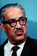 A 29 MG IMAGE OF:<br /> <br /> Thurgood Marshall, Socitor General in May 1970<br /> <br /> Photo by Dennis Brack  B 8