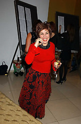 RUBY WAX at a Burns Night supper in aid of Clic Sargent & Children's Hospital Association Scotland hosted by Ewan McGregor, Sharleen Spieri and Lady Helen Taylor at St.Martin's Lane Hotel, 45 St Martin's Lane, London on 25th January 2006.<br /><br />NON EXCLUSIVE - WORLD RIGHTS