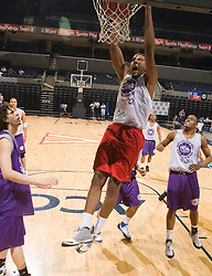 C/F Jeremy Tyler (San Diego, CA / San Diego High).  The NBA Player's Association held their annual Top 100 basketball camp at the John Paul Jones Arena on the Grounds of the University of Virginia in Charlottesville, VA on June 20, 2008