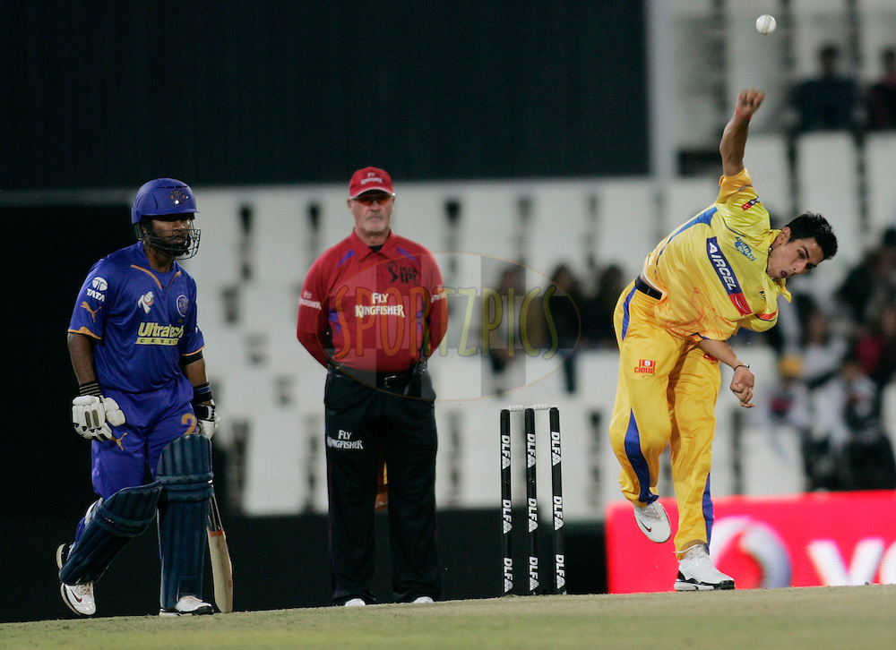 CENTURION, SOUTH AFRICA - 30 April 2009.  during the  IPL Season 2 match between the Rajasthan Royals and the Chennai Superkings held at  in Centurion, South Africa..Chennai Super Kings player  in action