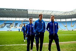 Bristol Rovers arrive at Coventry City - Mandatory by-line: Robbie Stephenson/JMP - 07/04/2019 - FOOTBALL - Ricoh Arena - Coventry, England - Coventry City v Bristol Rovers - Sky Bet League One