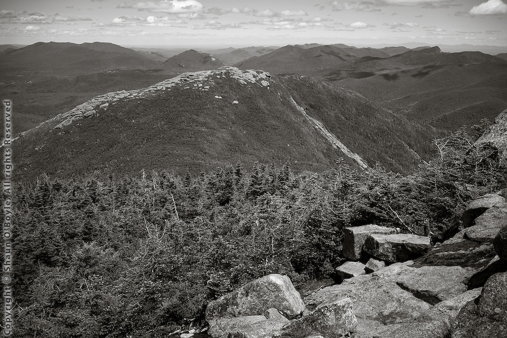 Wright Peak from Algonquin Peak, Adirondack Mountains, NY
