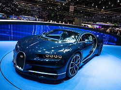 New Bugatti Chiron at 87th Geneva International Motor Show in Geneva Switzerland 2017