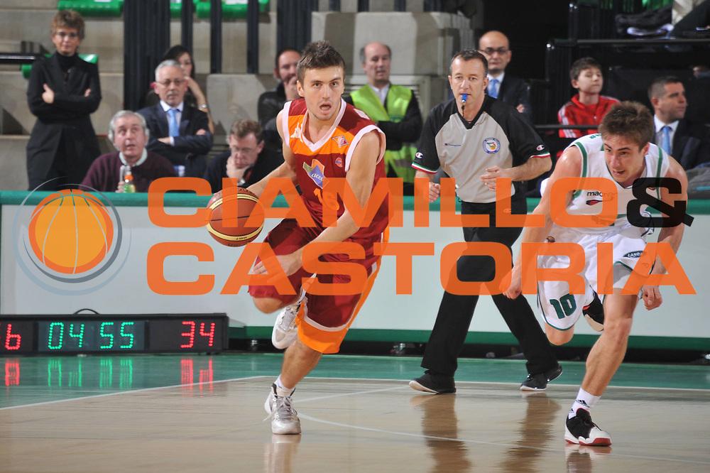 DESCRIZIONE : Treviso Lega A 2011-12 Benetton Treviso Acea Roma<br /> GIOCATORE : nemanja gordic<br /> CATEGORIA :  palleggio<br /> SQUADRA : Benetton Treviso Acea Roma<br /> EVENTO : Campionato Lega A 2011-2012<br /> GARA : Benetton Treviso Acea Roma<br /> DATA : 10/12/2011<br /> SPORT : Pallacanestro<br /> AUTORE : Agenzia Ciamillo-Castoria/M.Gregolin<br /> Galleria : Lega Basket A 2011-2012<br /> Fotonotizia :  Treviso Lega A 2011-12 Benetton Treviso Acea Roma<br /> Predefinita :