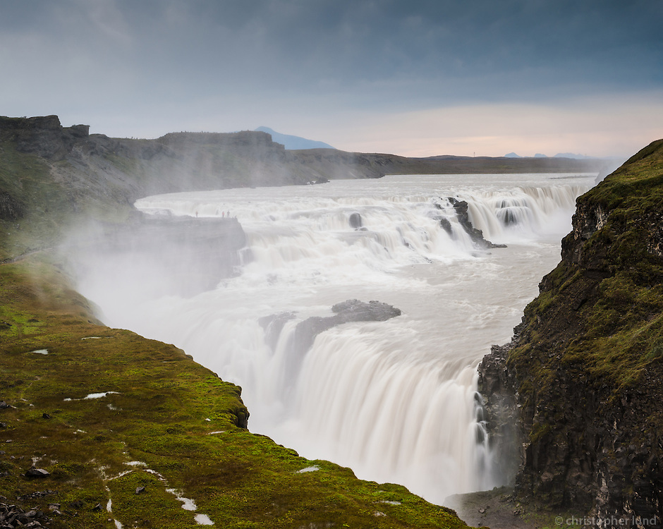 Gullfoss (English: Golden Falls) is a waterfall located in the canyon of Hvítá river in southwest Iceland.
