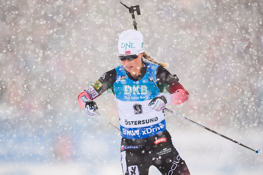 March 10, 2019 - –Stersund, Sweden - 190310 Tiril Eckhoff of Norway during the Women's 10 km Pursuit during the IBU World Championships Biathlon on March 10, 2019 in Östersund..Photo: Petter Arvidson / BILDBYRÃ…N / kod PA / 92254 (Credit Image: © Petter Arvidson/Bildbyran via ZUMA Press)