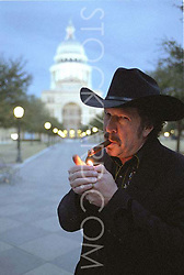 Kinky Freidman, musician, politician, Austin, Texas, Texas State Capitol, cigar