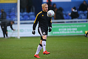 Port Vale forward Mark Cullen (13) in the warm up during the EFL Sky Bet League 2 match between Mansfield Town and Port Vale at the One Call Stadium, Mansfield, England on 26 December 2019.