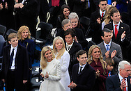 The Trump Family before Donald Trump takes the oath of office for the presidency of the United States on January 20,2017<br /> <br /> Photo by Dennis Brack