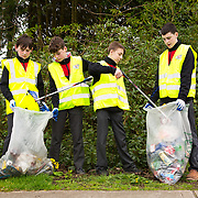 04.04.2017              <br /> ST. Munchins College, Corbally were out in force doing their bit for TLC3. Pictured are, Jamie McCormick, Andrew McDonnell, Jacub Szczerbaty and Sean O'Donnell. Picture: Michael Andrews